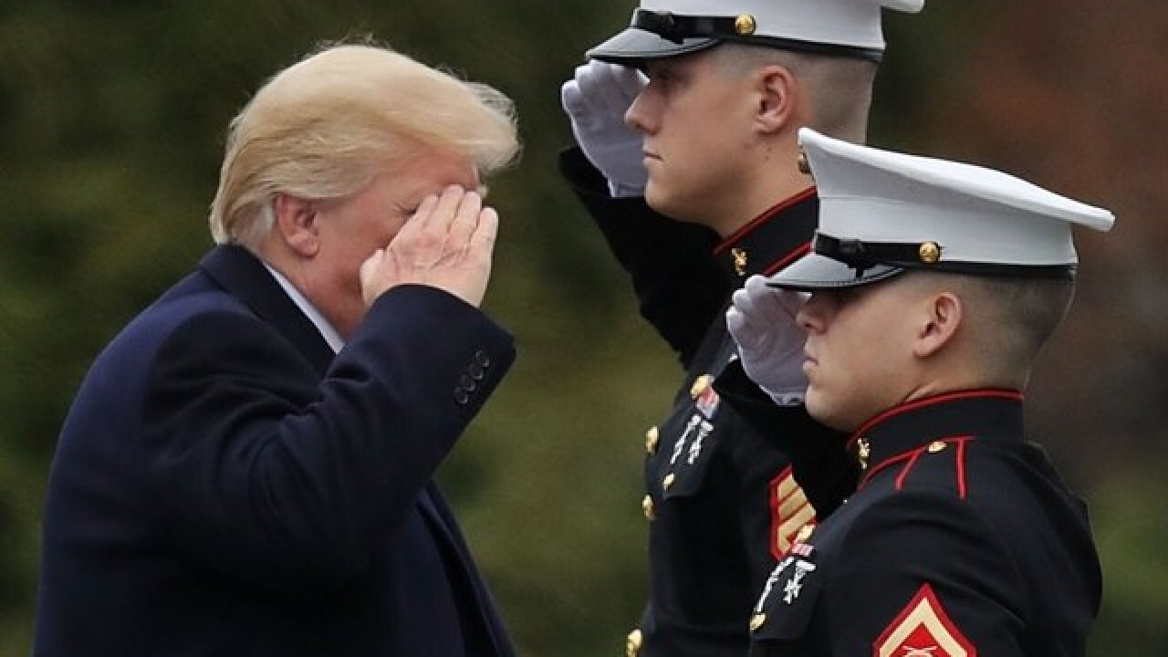 Official says President Trump's military parade would cost about $92M