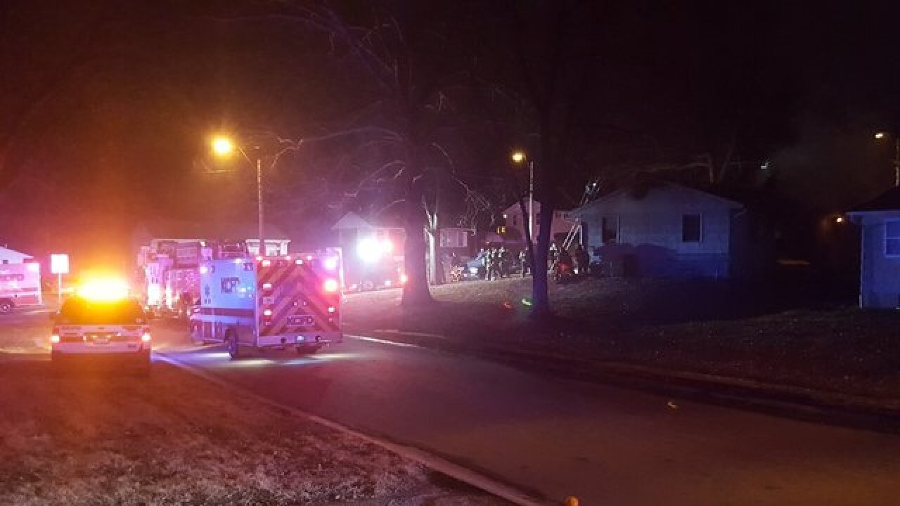 Four dead after shooting, house fire in east KC