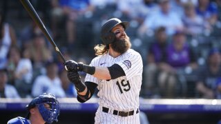Blackmon's 10th inning homer lifts Rockies past Dodgers 6-5