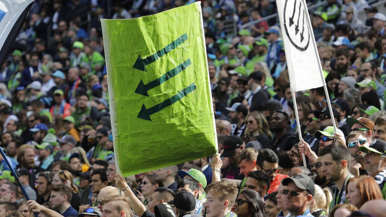 MLS United Sounders Soccer