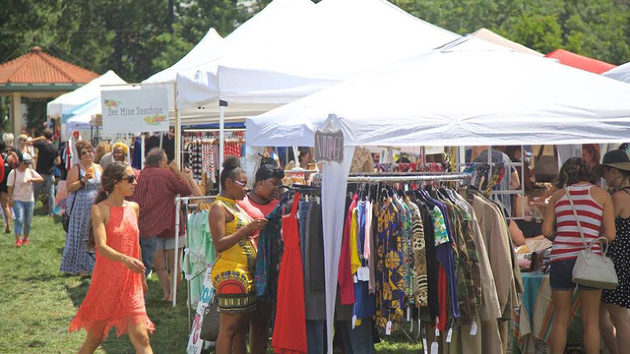 Vendors, shoppers flock to The City Flea