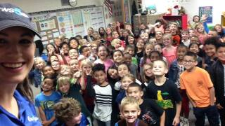 Storm Safe visits Webster Elementary