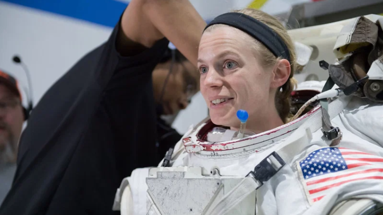 Williamsburg woman feels lucky to be a NASA astronaut: 'It's stillsurreal'
