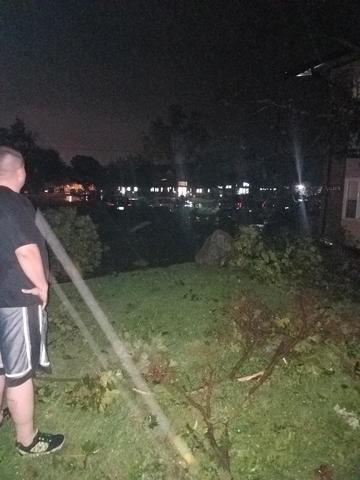 PHOTOS: Severe storm damage in metro Detroit