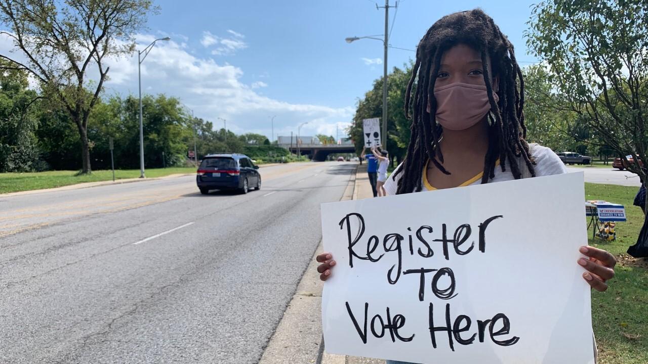 Register to vote event