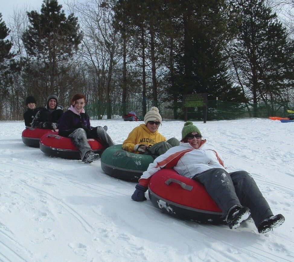 snow tubers