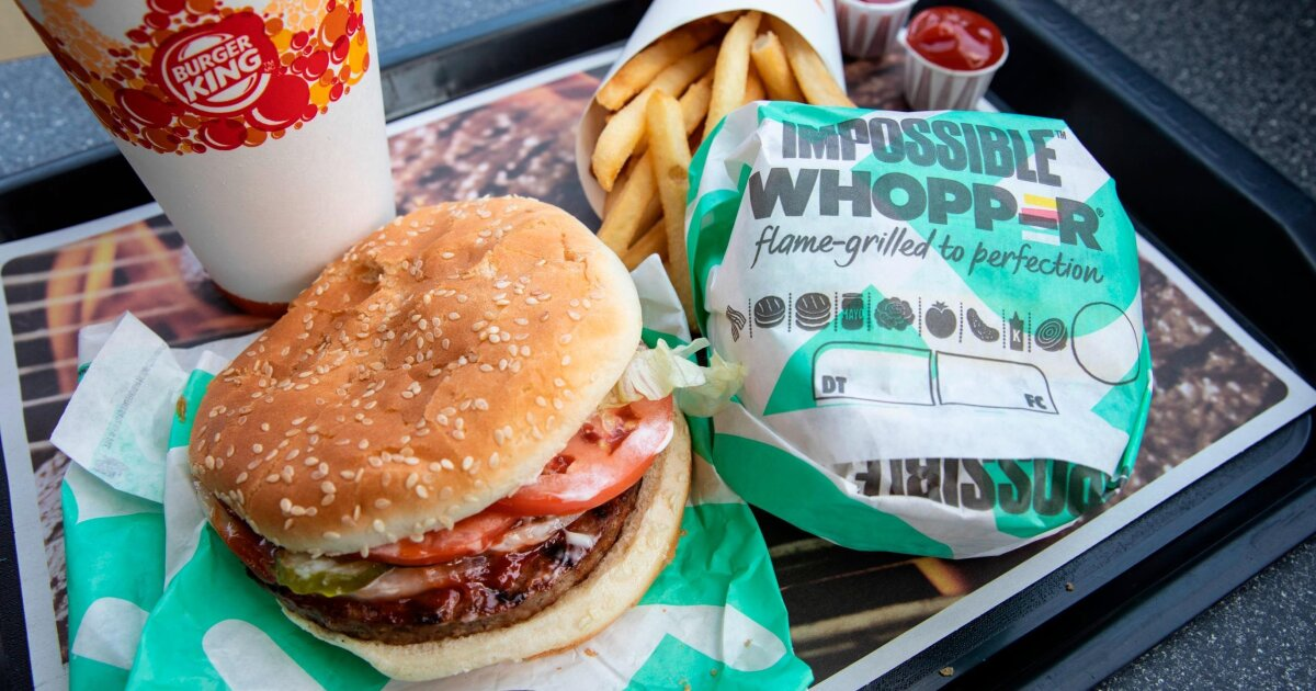 Lawsuit claims Impossible Whopper 'contaminated' by meat