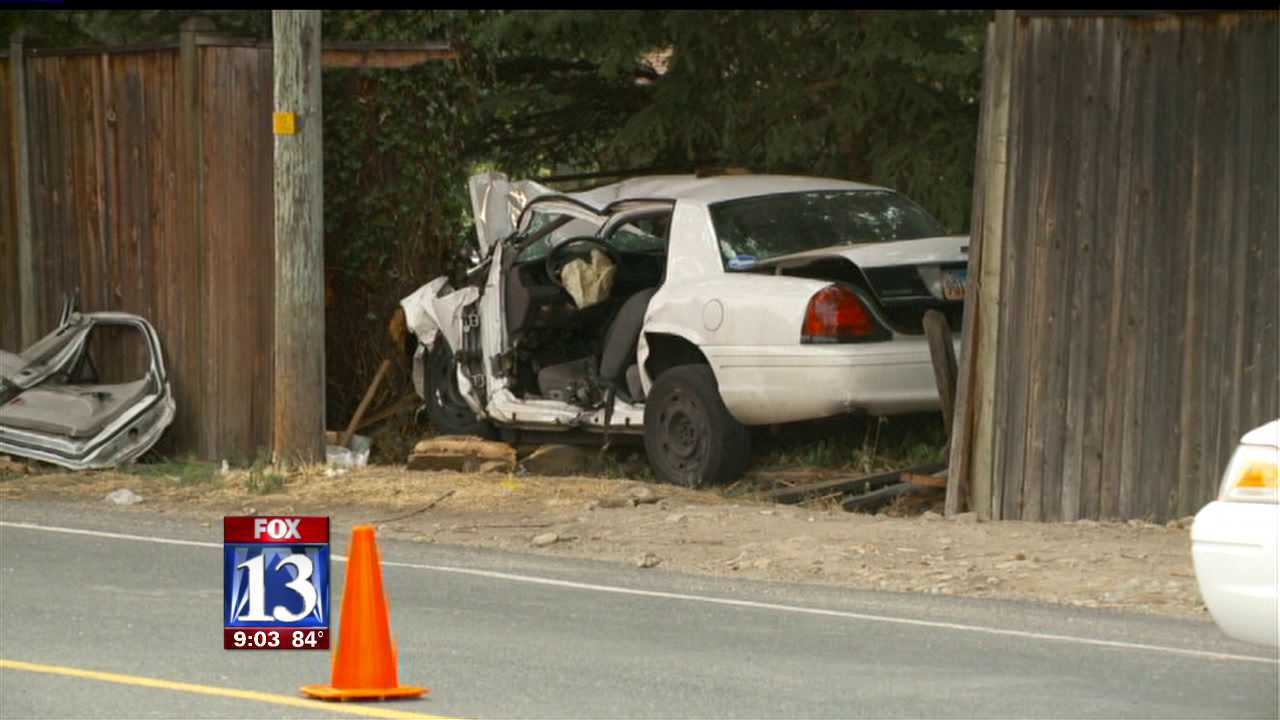 Man dies in single-vehicle crash in Holladay
