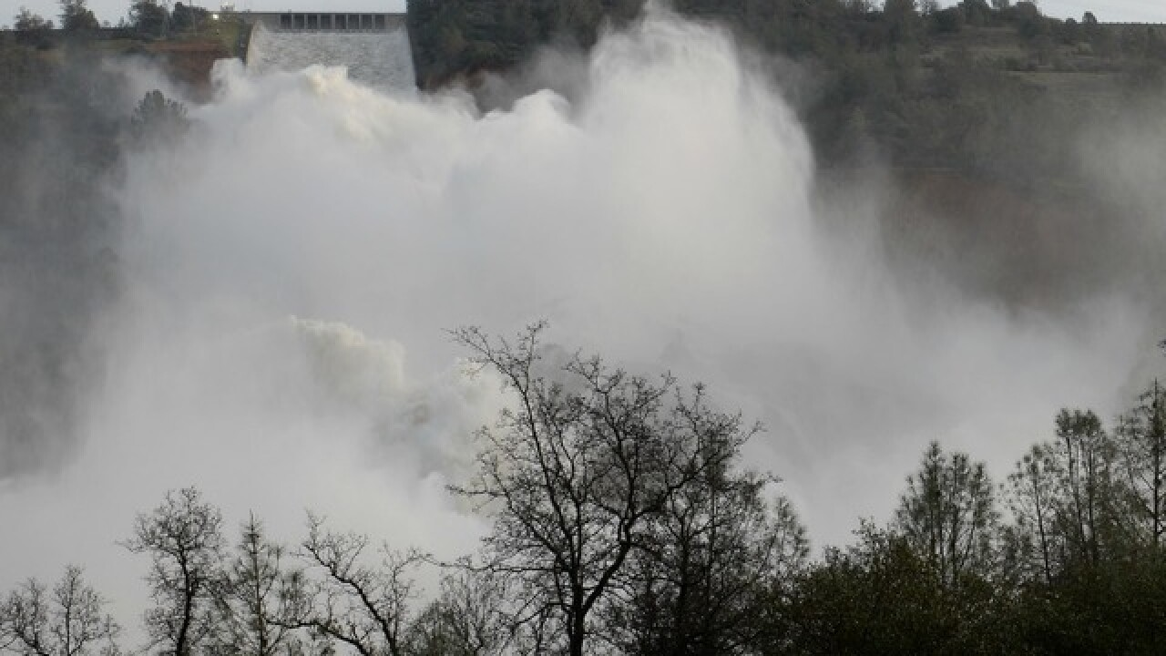 Oroville Dam: Crews rush to repair dam central to Northern
