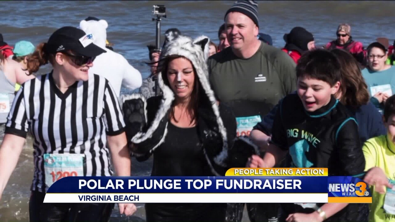 Dedicated Polar Plunger's passion for giving back rubs off on coworkers