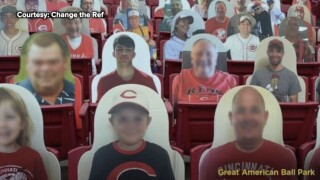 Reason behind Florida teenager's cut-out sits in stands of 14 MLB parks