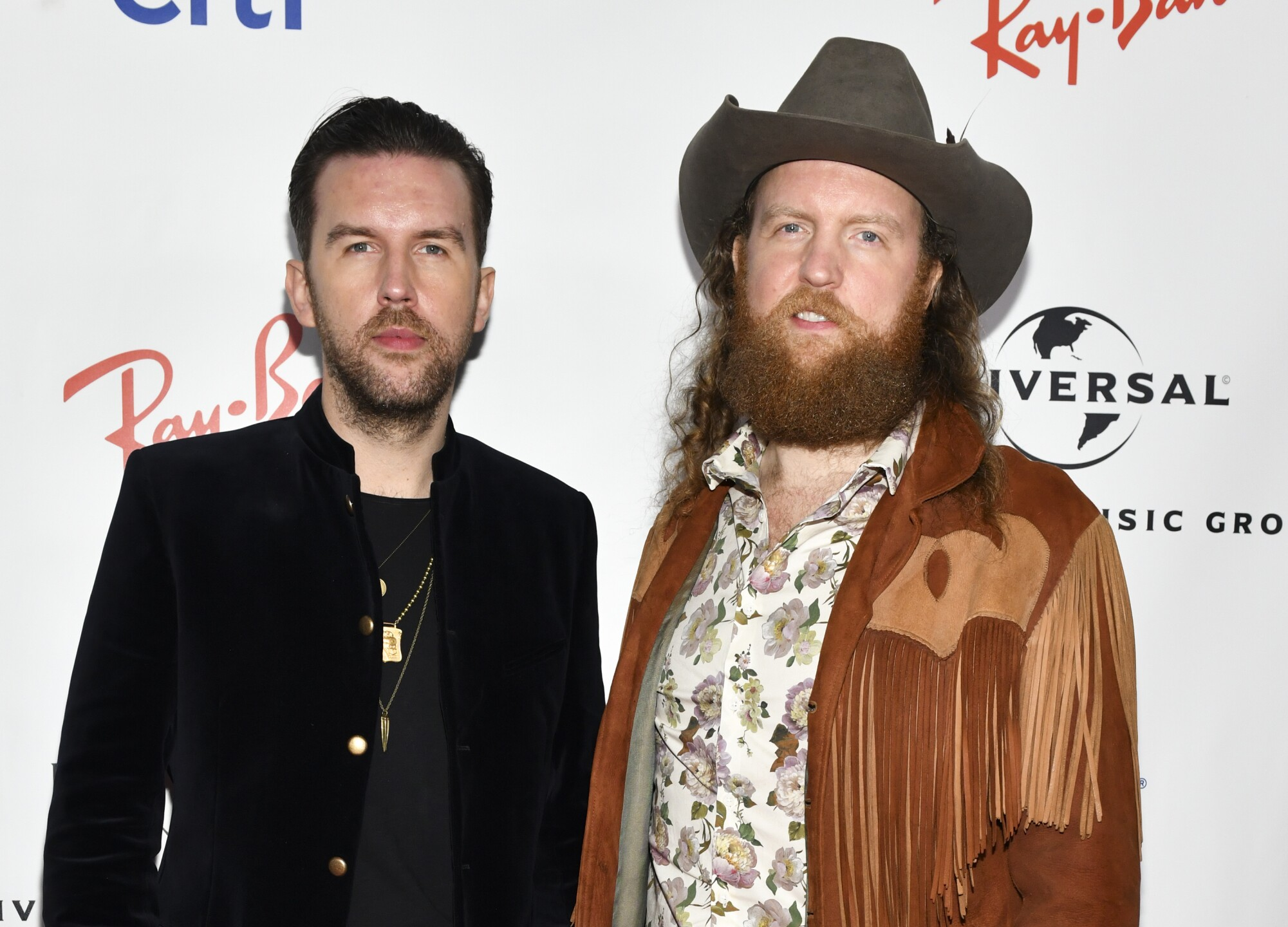 Brothers Osborne at the GRAMMYs.