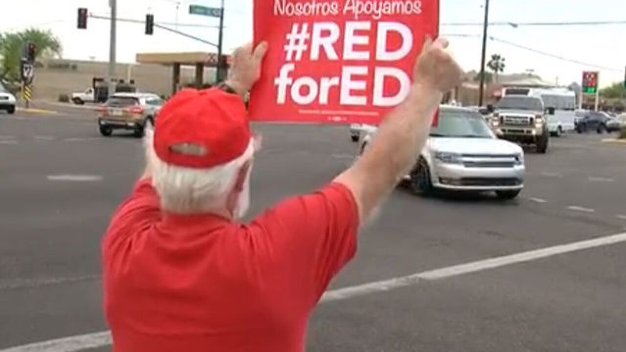 Arizona teacher walkout: See district plans for handling walkout