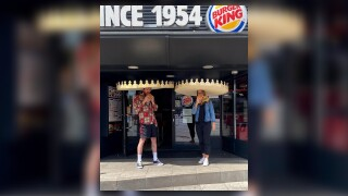 Burger King debuts 'social distancing crowns' in Germany