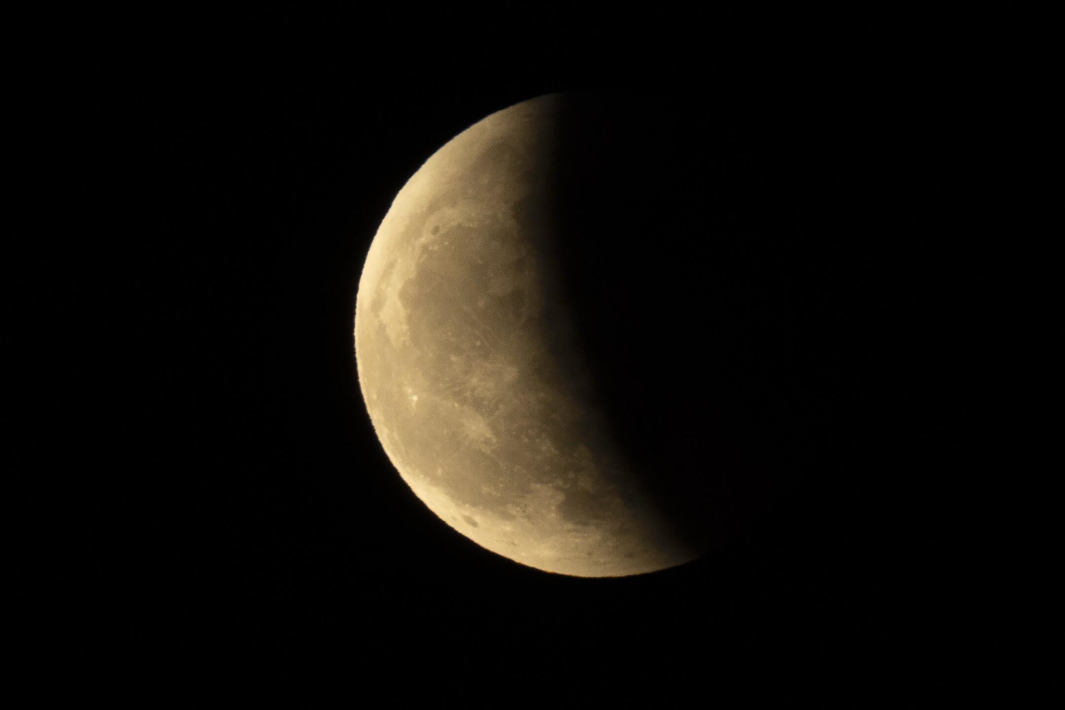 Lunar Eclipse China