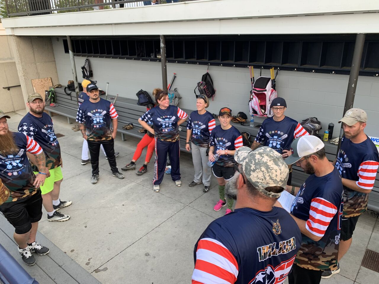 'Strikes for Stripes' charity softball game