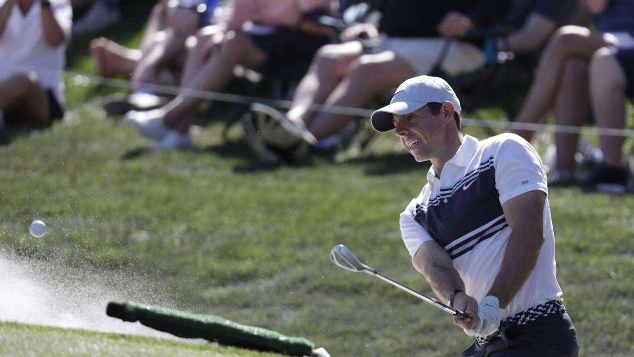 Rory McIlroy at TPC, March 2020