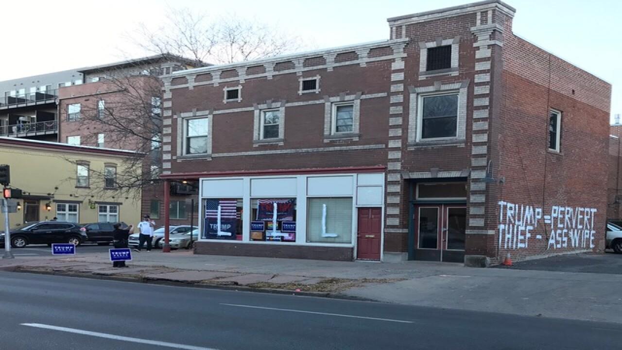 Trump campaign office in Denver vandalized