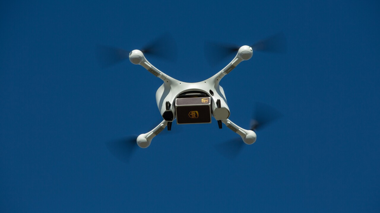 UPS, CVS will use drones to deliver medication to nation's largest retirement community