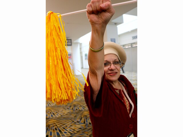 PHOTOS: Scenes from the Women's Convention at Cobo Hall in Detroit