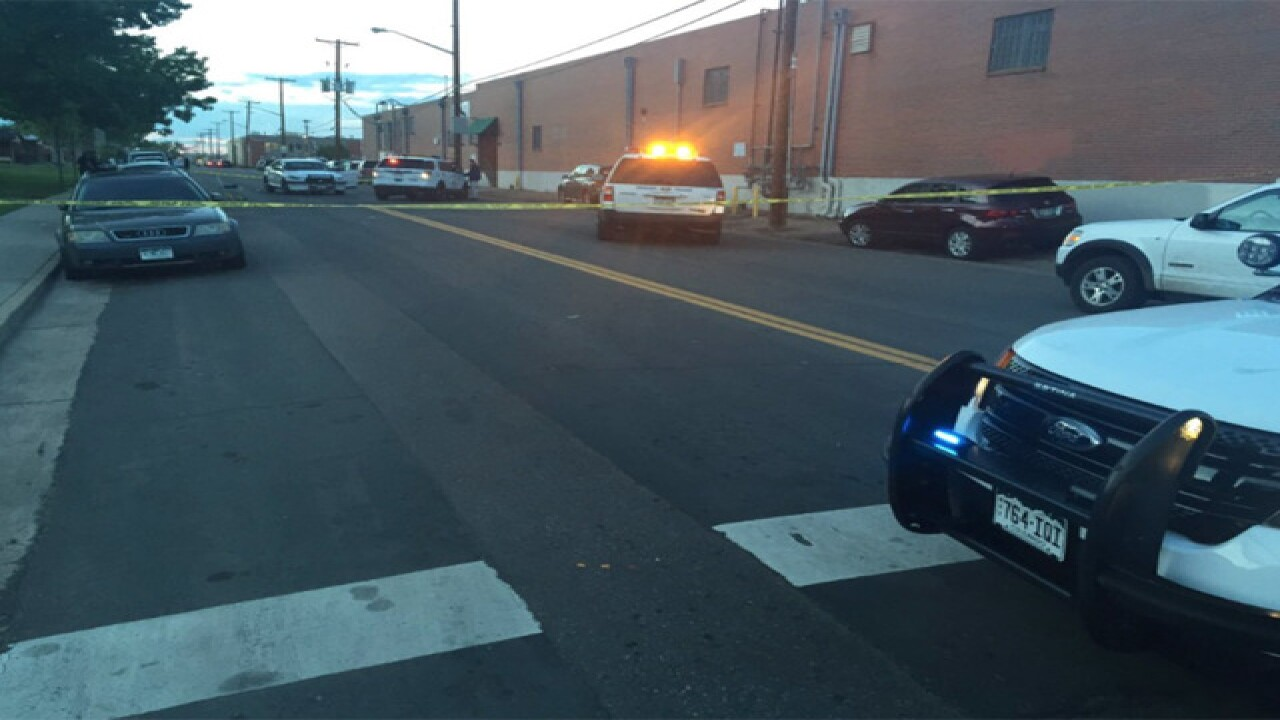 10-yr-old boy injured in crash in north Denver