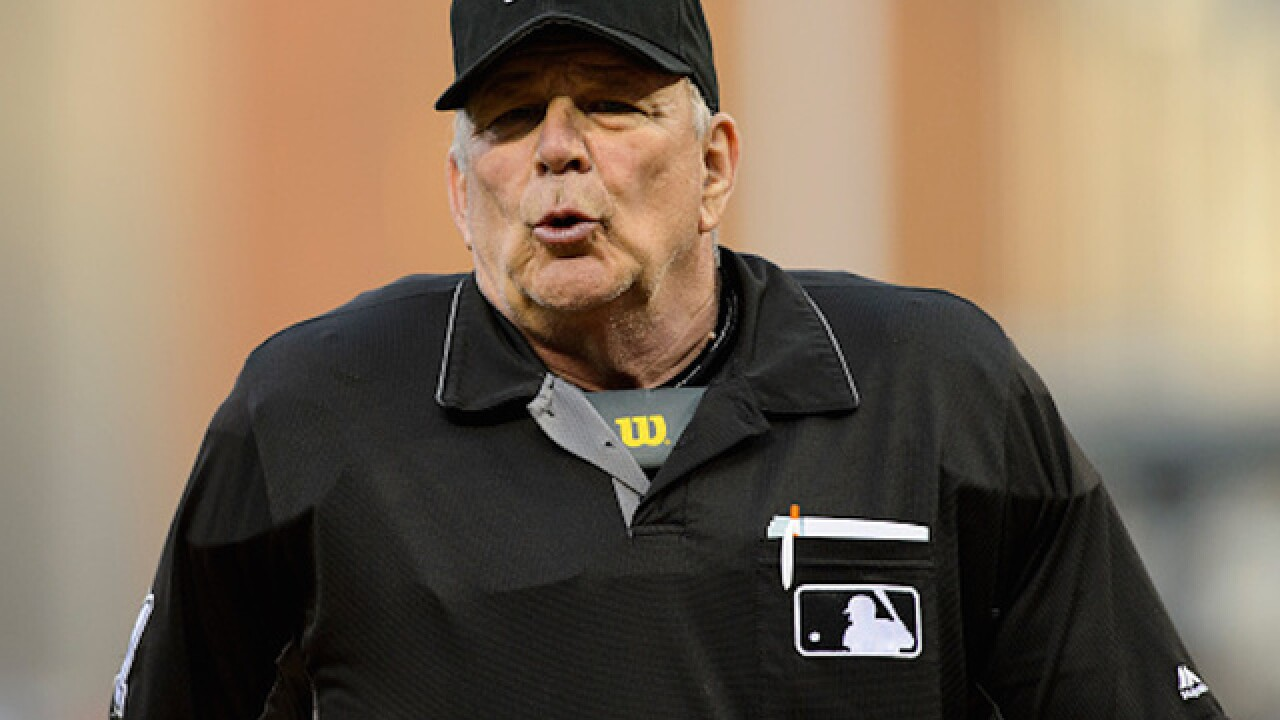 MLB umpire ejects fan from stadium