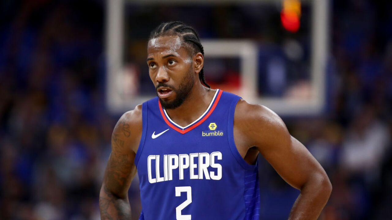 Some NBA fans filled ripped off that Kawhi Leonard sat due to 'load management'