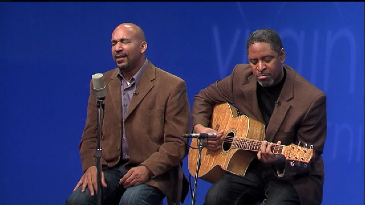 Enjoy the sweet sounds of vocalist Carlton Blount and guitarist Carl 'Chico' Lester-El