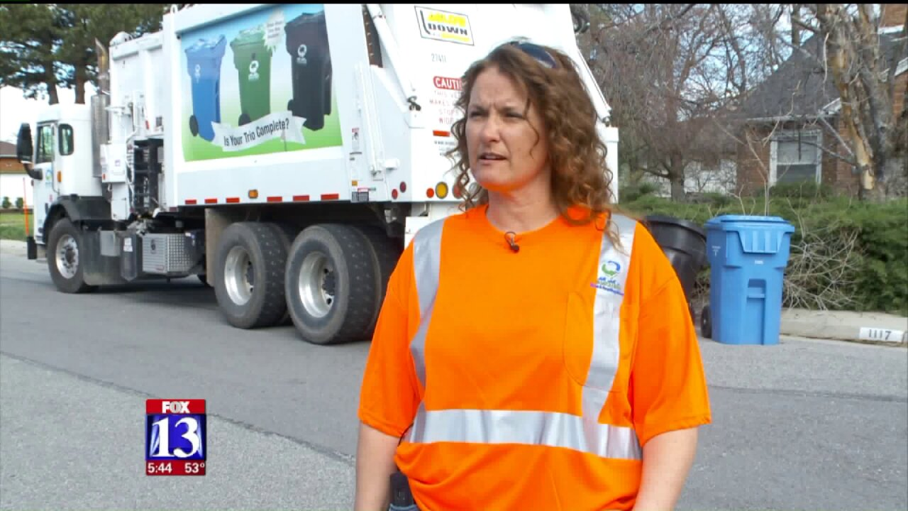 Utah woman picks up national garbage truck driver of the yearaward