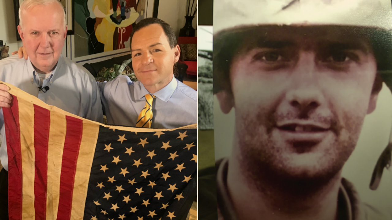 After long legal battle, Vietnam War veteran finally allowed to hoistflag