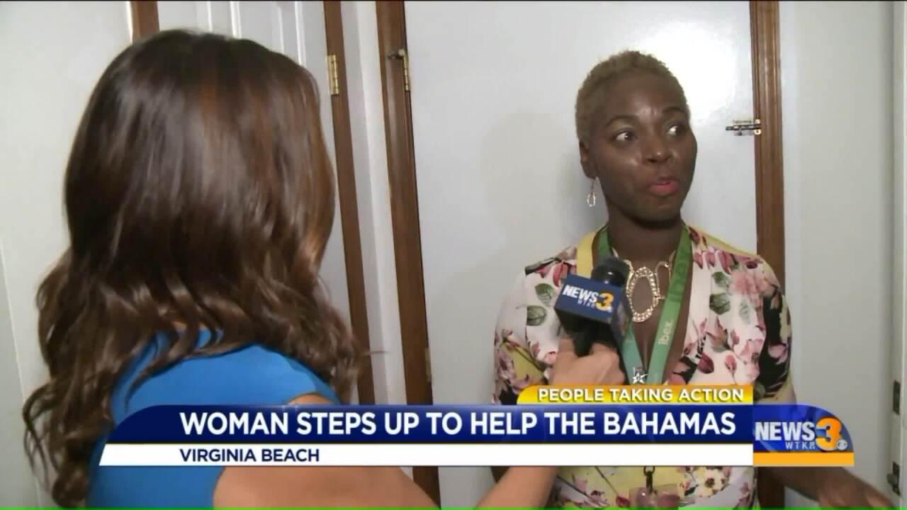 Bahamas native organizes relief effort from VirginiaBeach