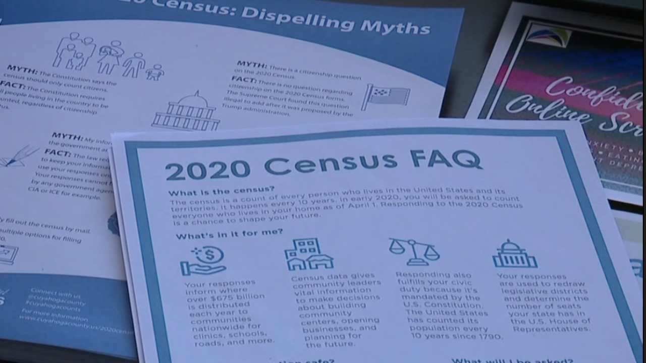 Cuyahoga Co. reports some cities with lagging Census response