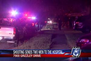 Shooting on 7900 block of Grizzley Dr.