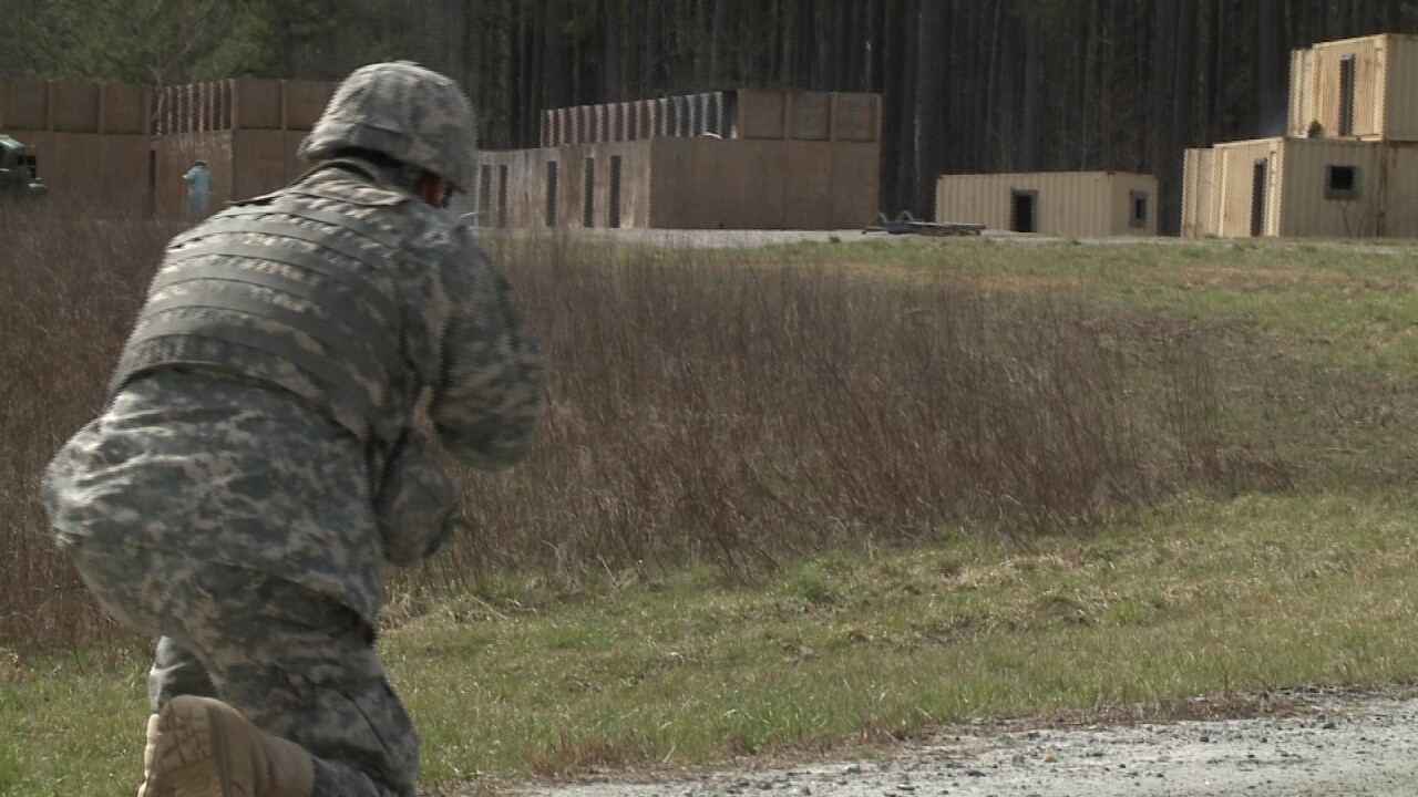 Specialized team of Va. soldiers prepare for active duty in ArabianPeninsula