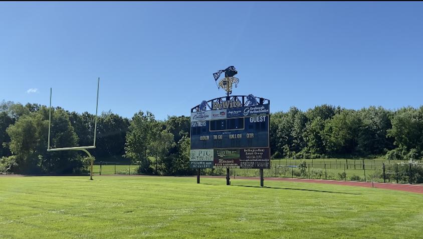 DeWitt High School football field