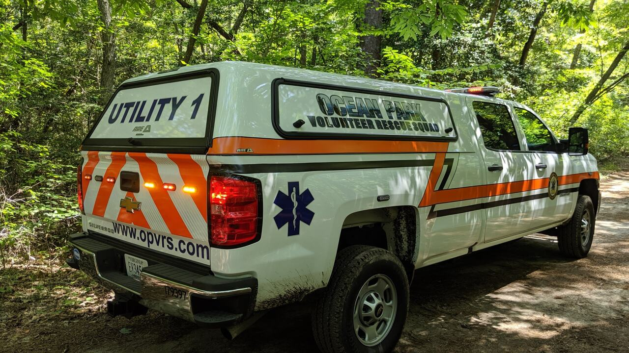 Multiple agencies help rescue person at First Landing State Park