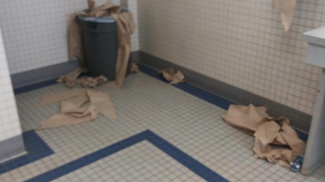 Carroll High School Bathroom