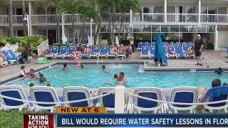 FL could soon require swim safety lessons in schools