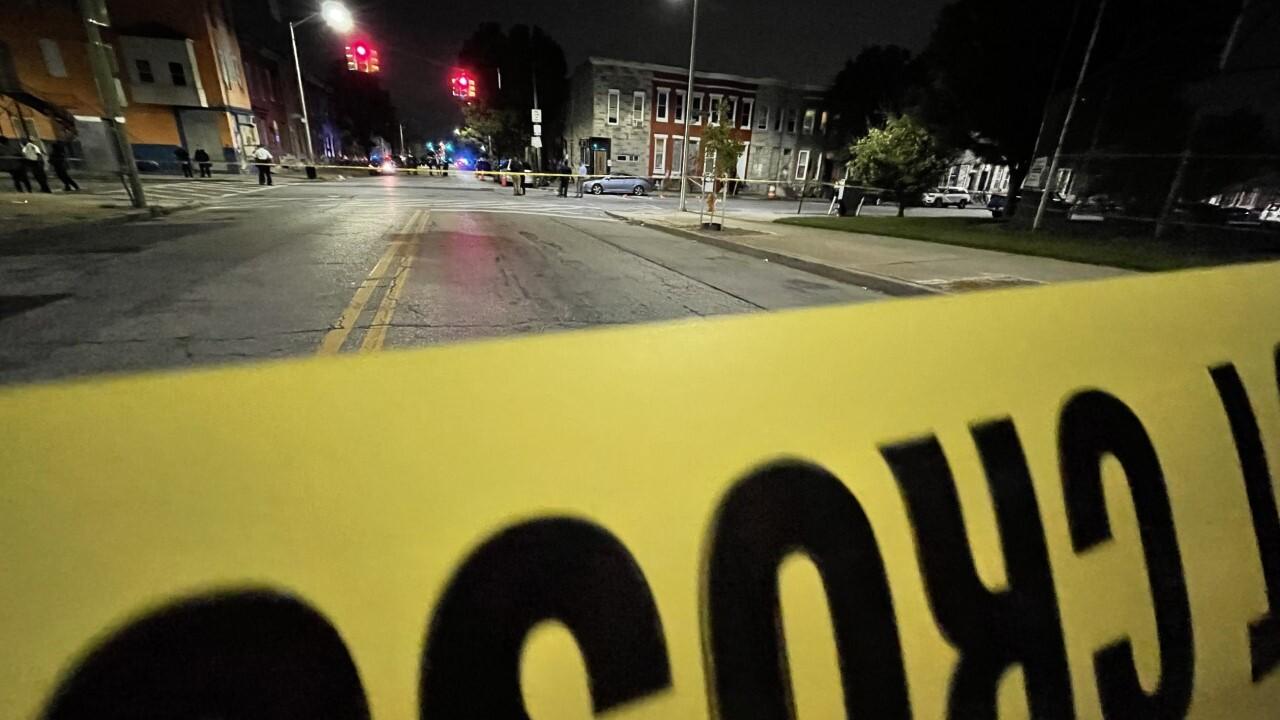 Multiple people injured in Baltimore shooting Wednesday evening