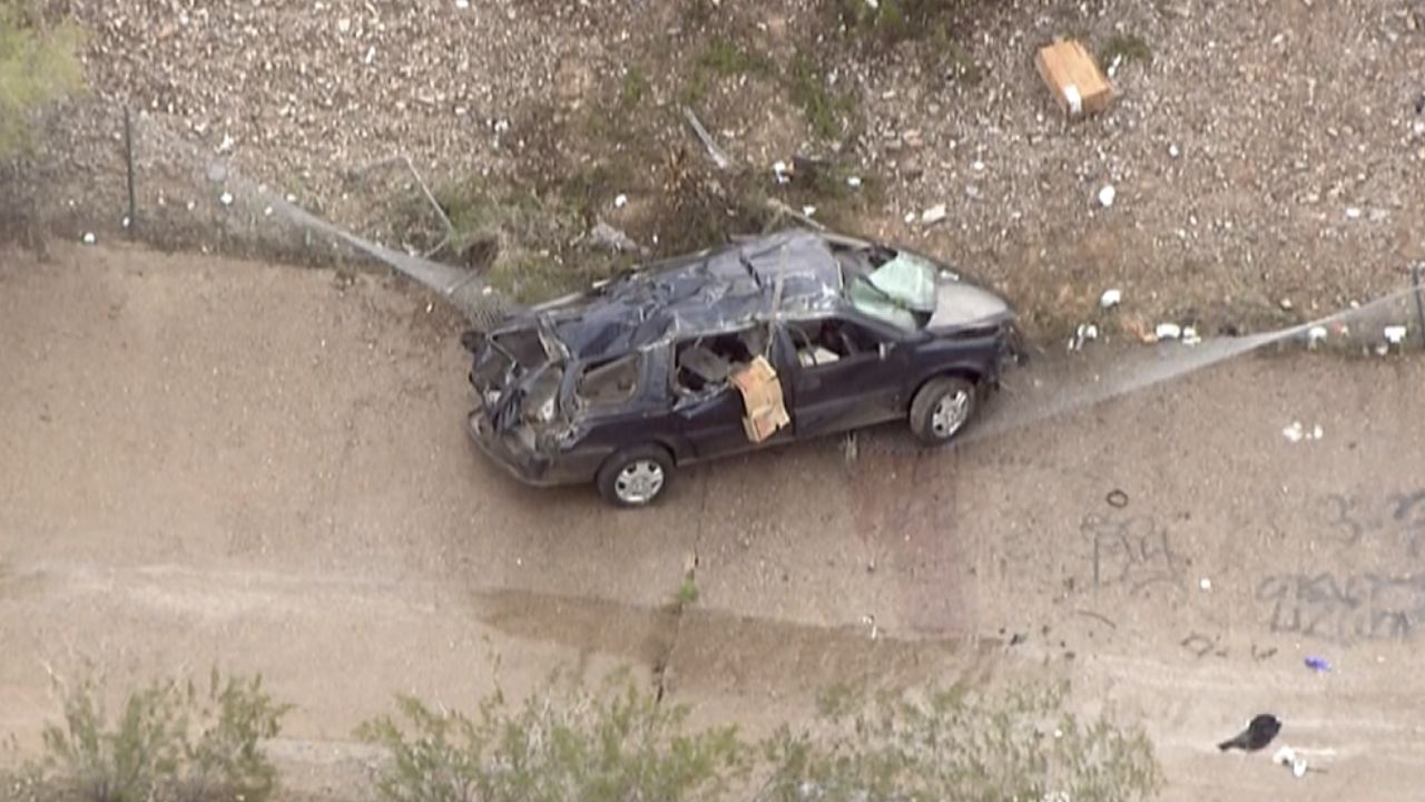 DPS: 2 ejected, seriously injured after rollover crash on SR-51 at