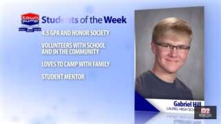 Student of the Week: Gabriel Hill and Kanyin Moran of Laurel High School