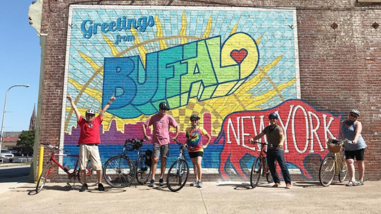 Buffalo Bike Tours are back for their third season on the waterfront
