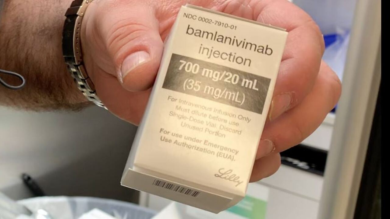 Bamlanivimab is a monoclonal antibody treatment for certain people with COVID-19