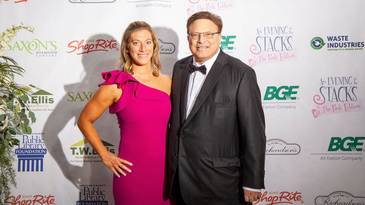 Andy Klein and Sarah Library Gala 2018.JPG
