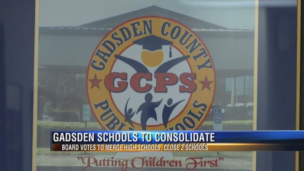 Gadsden County School District to Consolidate in 2018