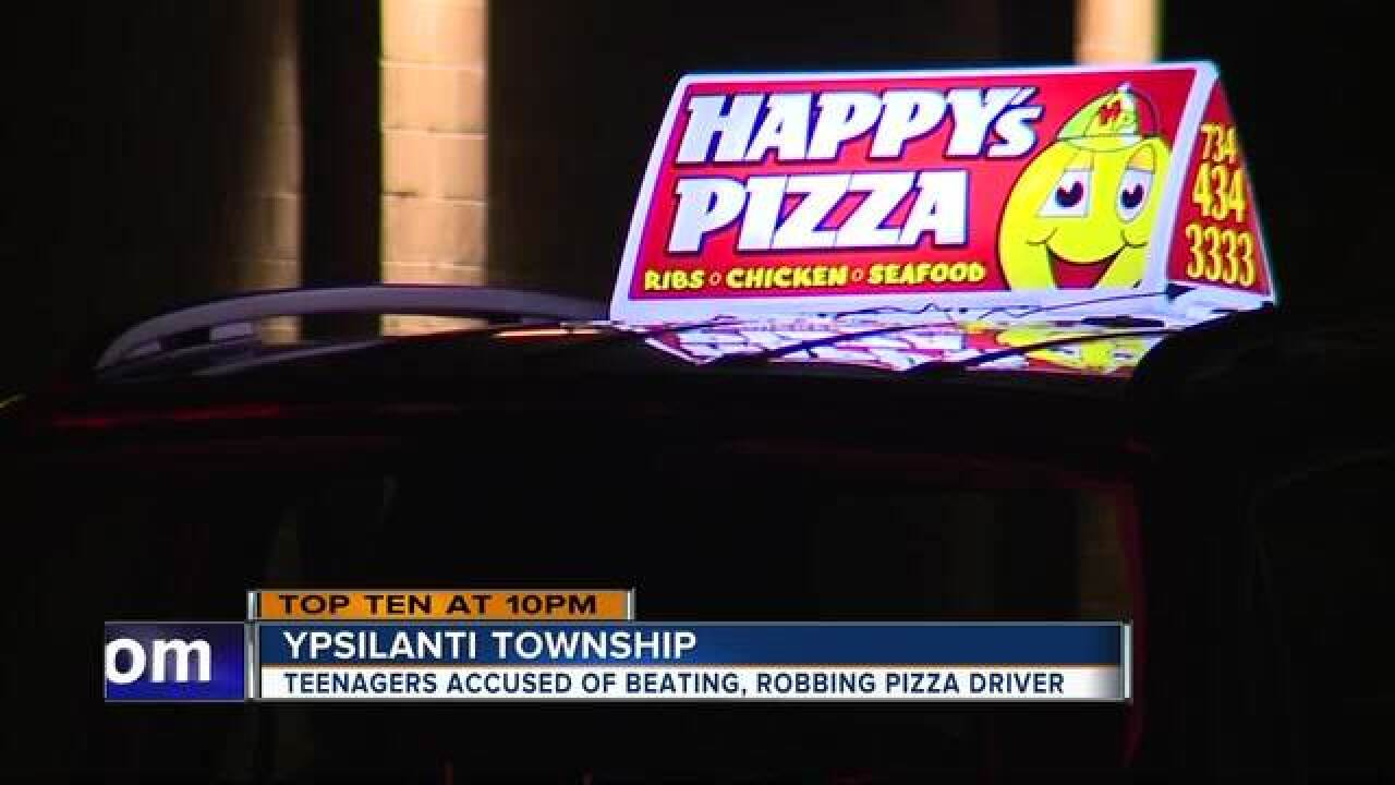 14-year-olds accused of carjacking pizza driver
