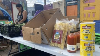 The Pueblo Food Project uses as many locally sourced products as possible for their food distributions