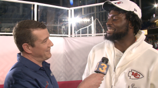 Photos: Wink gives Virginia Beach's Derrick Nnadi a 'Nnadi List' at Super Bowl Opening Night