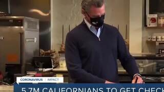 Newsom signs coronavirus relief package