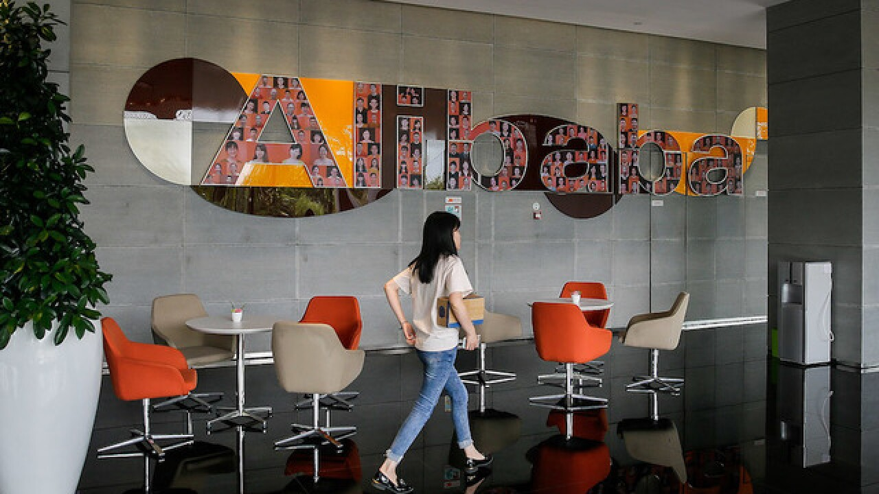 China's biggest e-commerce company, Alibaba, spends billions on online food delivery service